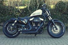 Harley Davidson Sportster 48 XL 1200X forty eight Umbau