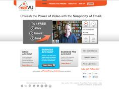 MailVu:  Envoyer des mails au format vidéo