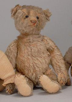 Antiquitäten & Kunst Stofftiere & Teddybären Antiker TeddybÄr Stofftier 53 Cm Spielzeug PlÜschtier