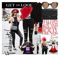 """Bloggers do it better:Zorannah"" by meliki ❤ liked on Polyvore featuring Zara, Chanel, Lancôme, Miss Selfridge, rag & bone and Illesteva"