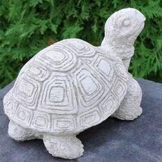 tutle garden decor   Concrete Outdoor Turtle Garden Decor Statue Statuary   eBay for the steps we can paint them $10