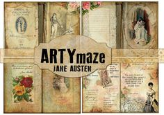 Check out this item in my Etsy shop https://www.etsy.com/uk/listing/500487649/jane-austen-digital-journal-kit-instant
