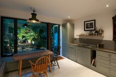 Double Extension, Chalk Farm - contemporary - Kitchen - London - Jeff Kahane + Associates