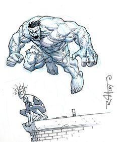 Hulk & Spider-Man - Ryan Ottley