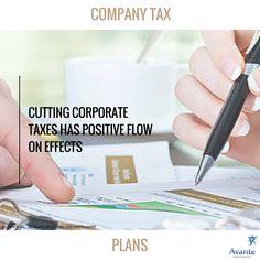 Tax talk: Company tax plans in Australia! #1  #cutting #taxes #positive #avante  www.avantefinancial.com.au
