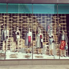 Good morning! Beautiful new day, beautiful new styles#topshop #shopwindow #topshopoxfordcircus #summerstyle #ss14 #trend #style #newseason