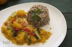 #vegetable #curry with #pumpkin