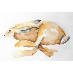 Original watercolour, unmounted. 50cm x 33cm. Free UK shipping