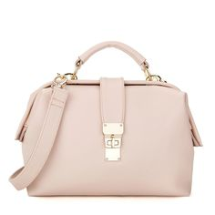 MFS Twist Lock Satchel - Pink [DM12001] - $43.00