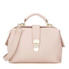 MFS Twist Lock Satchel - Pink [DM12001] - $43.00