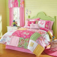 quilts for a daybed | Betsy Quilt Ensemble: Kids Bedding For Girls Review | Daybed Bedding ...