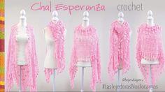Chal Esperanza tejido a crochet - Tejiendo Perú