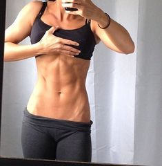 I want my stomach to look like this