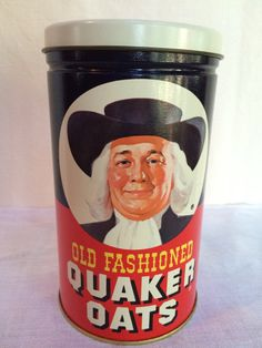 Vintage Limited Edition Quaker Oats by VintageRoseandLace on Etsy