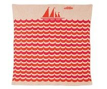 Donna Wilson Boat Mini Blanket - Red