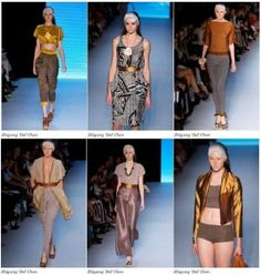 Zhigang Del Chen's work at Rosemount Australian Fashion Week