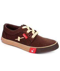 Sparx Brown Sneaker Shoes - http://weddingcollections.co.in/product/sparx-brown-sneaker-shoes-6/