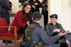 Kensington Palace (@KensingtonRoyal) on Twitter:  Training with Air Cadets, RAF Wittering, February 14, 2017-The Duchess of Cambridge