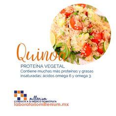 La quinoa no está de moda porque sí está comprobado que es rico en proteínas vegetales y alto en fibra.