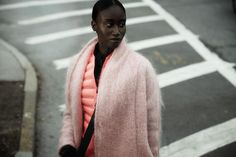 The Coolest Clothes To Get You In A Workout Mood / Datura Candy Rose Mohair Kimono Coat