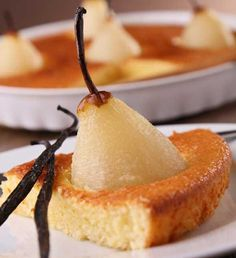 Shortcake de peras.