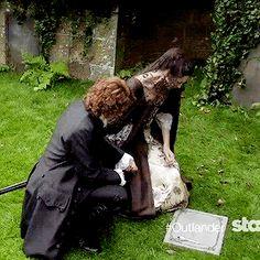 Outlander Season 2 (gif) heartbreaking..