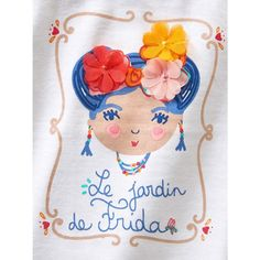 Image Baby Girl's T-Shirt with Motif VERTBAUDET