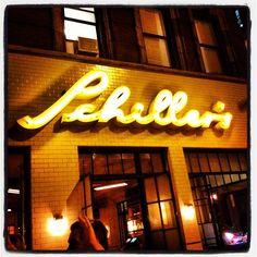 Schiller's Liquor Bar in New York, NY