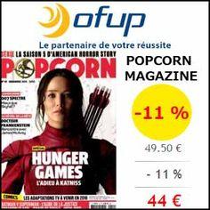 #missbonreduction; 11 % de réduction sur l'abonnement au POPCORN MAGAZINE chez Ofup. http://www.miss-bon-reduction.fr//details-bon-reduction-Ofup-i349-c1834670.html