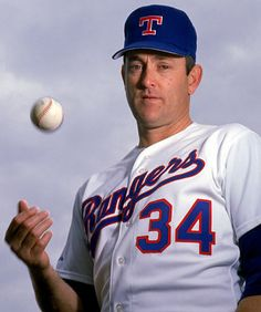 """Lynn Nolan Ryan, Jr. (born on January 31, 1947), nicknamed """"The Ryan Express"""", is a former Major League Baseball pitcher and chief executive officer (CEO) of the Texas Rangers. During a major league record 27-year baseball career, he pitched in 1966 and from 1968 to 1993 for four different teams: the New York Mets, California Angels, Houston Astros, and Texas Rangers. He was inducted into the Baseball Hall of Fame in 1999."""