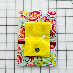 Cell Phone Wallet with Card Pockets - free sewing pattern! — SewCanShe | Free Sewing Patterns and Tutorials