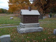 headstone house