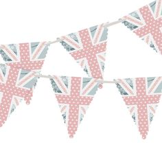 Celebration Bunting - 4m  The 'Celebration' bunting is in the same cutesy style as the stationery range; perfect for anyone wanting to add a fun feel into their wedding décor! This bunting looks beautiful at both indoor and outdoor wedding receptions!