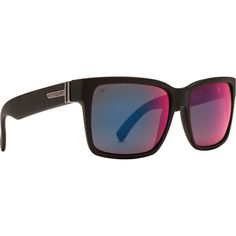 ed08019d04 VonZipper Elmore Sunglasses - Polarized Black Satin Galactic Glo Poly Polar