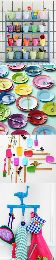 colorful products