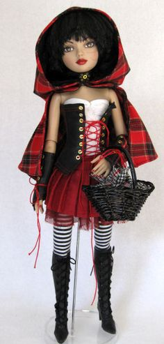 Chic Indulgence doll fashions Fantasy OOAK dolls    Demi-Divas by Durelle