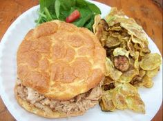 Sandy's Kitchen: A Medifast Picnic (Revolution Rolls and BBQ Ranch Chicken Salad)