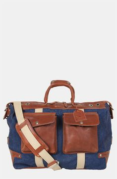 Will Leather Goods 'Heming Way' Duffel Bag available at #Nordstrom