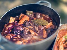Vildsvinsgryta Wild Boar, Venison, Pot Roast, Stew, Food And Drink, Pork, Cooking Recipes, Meat, Ethnic Recipes