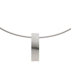 Long textured pendant, handcrafted in our in-store workshop. We specialise in contemporary jewellery design. Contemporary Jewellery, Contemporary Design, Stonechat, Neck Piece, Ireland, Jewelry Design, Pendants, Jewels, Bracelets