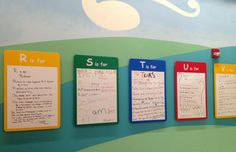 The ABC Wall inside St. Jude Children's Research Hospital.