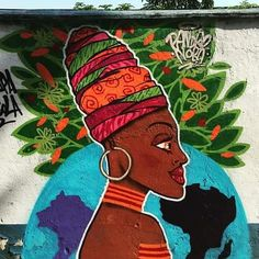More details of the work, place and artist: http://streetartrio.com.br/artista/noba-artista/compartilhado-por-artistasurbanoscrew-em-nov-28-2015-2002/ /  #afropower #artistasurbanoscrew #blackisbeautiful #graffit #poderpreto #streetart #streetartrio #streetphotography #buildinggraffiti #graffitiart #art #streetart #handmade #street #graff  #urban #wallart #spraypaint #aerosol #spray #wall #mural #murals #painting #arte #color #streetartistry #artist #grafiti #urbano #rue #guerillaart
