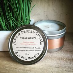 A personal favorite from my Etsy shop https://www.etsy.com/listing/273491336/apple-sourz-10oz-soy-candle