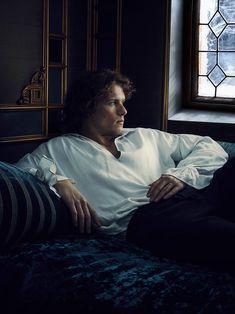 Foto 1 de 38 (com Sam Heughan) da série Outlander Temporada 2