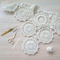 Folgen Sie #Blouse #Patterns Crochet Earrings
