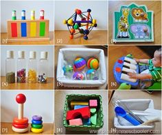 Vito's Toys at 8 Months