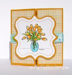 My hobby My Art: Tutorial # 23 LA&C tarjeta-caja sorpresa