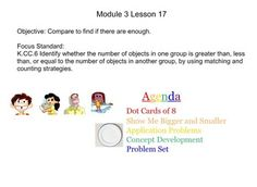 This product consists of the projectable pieces for the NYS Engage New York Kindergarten Math Module 3. It contains the projectable material for lessons 1-28. In addition, I included additional resources (games, videos, and differentiated worksheets) at the end of most lessons.