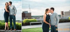 Allie and John Engagement Session in Fort Wayne.