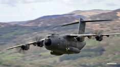 "Airbus A400M Mach Loop "" Blue Note-Like "" Flyby."